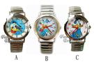 【卡漫城】 唐老鴨 伸縮錶帶 手錶 二款選一 ㊣版 Donald 迪士尼 不鏽鋼 卡通錶 女錶 鐵錶