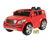 [家事達]  賓士 Benz GL-SUV 兒童電動車雙驅(紅/黑 色) 特價 雙人座 授權車 可遙控