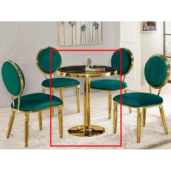 休閒桌椅 MK-1005-1  芝諾斯2.3尺圓桌【大眾家居舘】