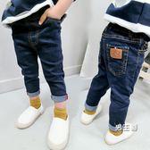 (百貨週年慶)男童牛仔褲小腳褲長褲兒童春秋新品2女童牛仔褲子3寶寶童裝4歲潮56