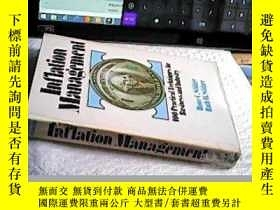 二手書博民逛書店Inflation罕見Management (英文原版) 通貨膨