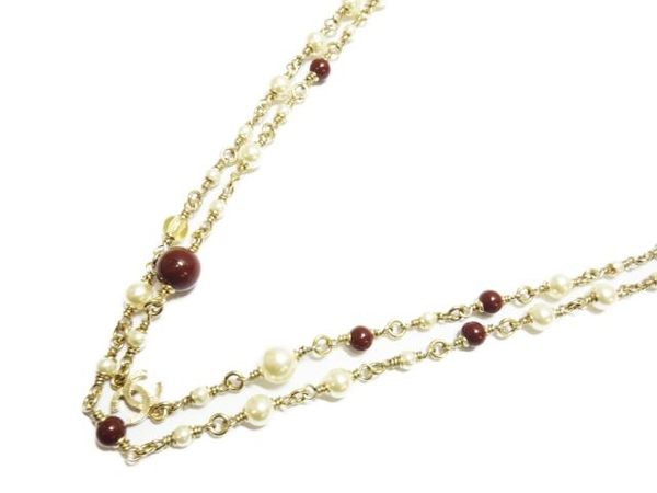 CHANEL Pearl Necklace 2015 珍珠項鍊 【BRAND OFF】