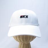 SKECHERS 棒球帽 運動帽 L120U0360019 後可調整式 57~60CM 亮白色【iSport愛運動】