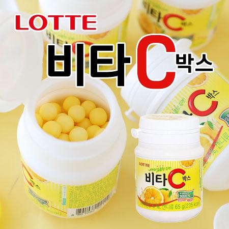 韓國 Lotte 樂天 檸檬糖 瓶裝 65g 糖果 檸檬糖果 樂天檸檬糖 韓國糖果
