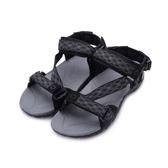 AIRWALK Z字織帶運動涼鞋 黑灰 A755230429 男鞋 鞋全家福