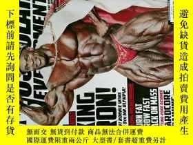 二手書博民逛書店MD罕見MUSCULAR DEVELOPMENT 2013 11 健身雜誌 外文原版時尚雜誌 男子健美健身雜誌