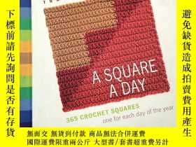 二手書博民逛書店A罕見Square a Day: 365 Crochet Squares: One for Each Day of