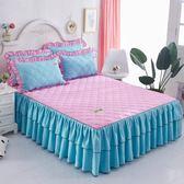 鋪棉床罩組舖棉加厚床裙120x200公分席夢思床墊保護床罩 單件床套加棉180公分150公分床保潔墊