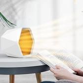 暖風機 110V暖風機臺灣美國日本香港家用迷妳取暖器辦公桌面便攜式電暖氣【快速出貨八折特惠】