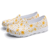PONY TROPIC 水鞋 白 白黃 鳳梨 洞洞鞋 情侶 男女 (布魯克林) 02U1SA08YW