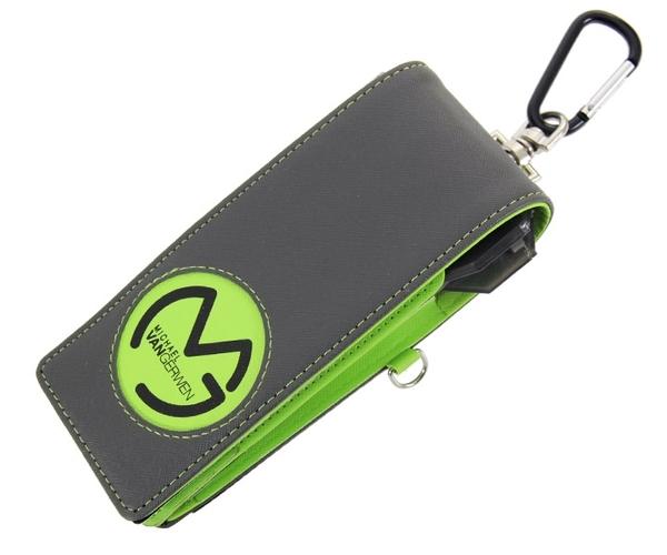 【XQ MAX DARTS】Michael Van Gerwen DART WALLET Gray/Green 鏢盒/鏢袋 DARTS