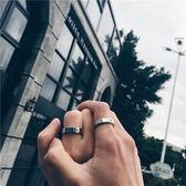 日韓潮牌高橋民族風手工鑲嵌金珠太陽圖騰戒指情侶男女尾環不褪色