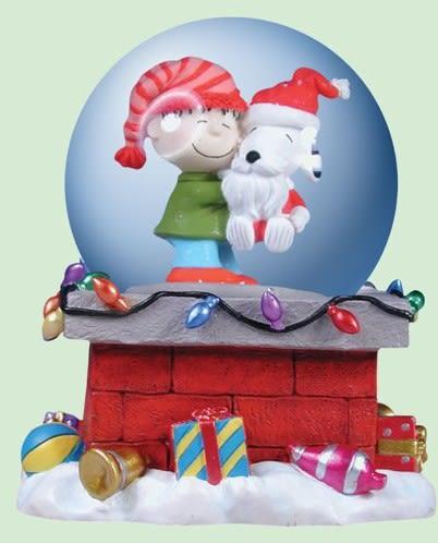 史努比聖誕音樂盒Up On ARooftop