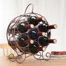 新款鐵藝酒架/鐵藝紅酒架7瓶葡萄酒櫃/歐式創意禮品禮物