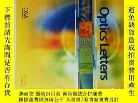 二手書博民逛書店Optics罕見Letters 2014 09 18光學光子學學