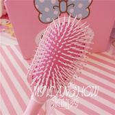 可愛K*T貓咪按摩梳子 卡通氣墊梳 米蘭shoe