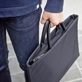 電腦包 簡約商務手提包公事包13.3寸14寸15.6寸筆記本電腦包 文件袋男女 夢藝家