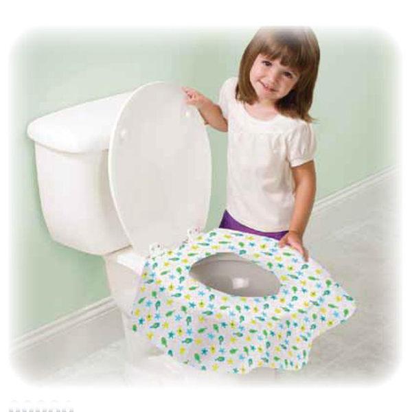 孕媽咪俏貝比 ~~ 美國Summer Infant- 環保拋棄式馬桶座墊20入