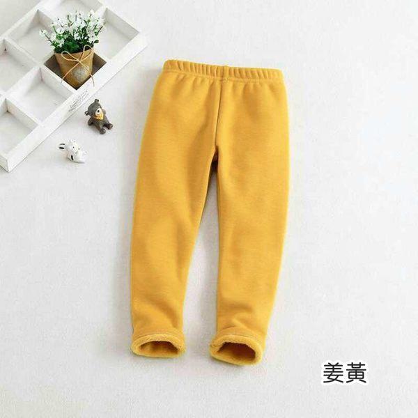 童裝 素色好搭內刷毛內搭褲 長褲  橘魔法 Baby magic 現貨 兒童 童褲 女童 男童 中性款