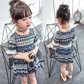 女童夏裝3童裝4女孩雪紡裙子洋氣兒童公主連衣裙   GY7『寶貝兒童裝』