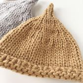 雙12鉅惠 2108嬰兒秋季帽子針織帽女寶寶秋冬帽奶嘴帽男小童帽子幼兒童裝帽