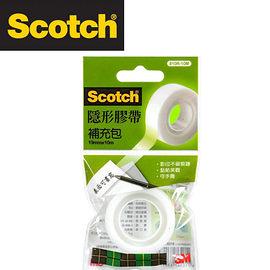 3M 810R-10M Scotch®隱形膠帶補充包(19mmx10m) / 個