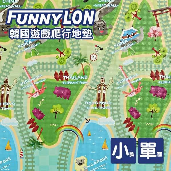 FUNNYLON 單面地墊/野餐墊亞洲列車地墊140X200cm  N-LSI-0223