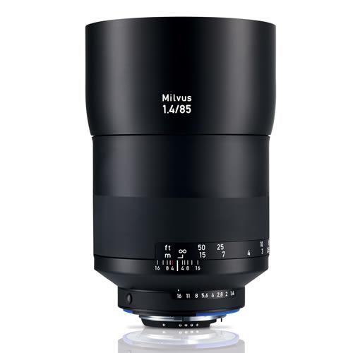 6期零利率 Zeiss 蔡司 Milvus 1.4/85 ZF.2 85mm F1.4 ZF2 鏡頭 For Nikon 平行輸入