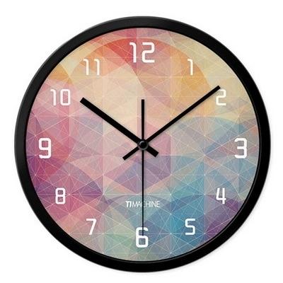 創意時鐘-美式鄉村田園繽紛藝術掛鐘3色72z8【時尚巴黎】