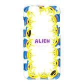 日本正版迪士尼 Disney iPhone6/6S 透明塗鴉系列硬殼 保護殼 保護套 玩具總動員-三眼怪 016