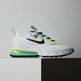 Nike Air Max 270 React 男鞋 白綠 氣墊 舒適 避震 簡約 CK6457-100