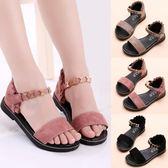 女童鞋韓版中大童羅馬涼鞋