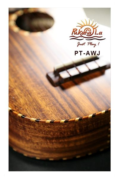 【非凡樂器】Pukanala PT-AWJ 全單板台灣相思木/Jambo大尺寸烏克麗麗