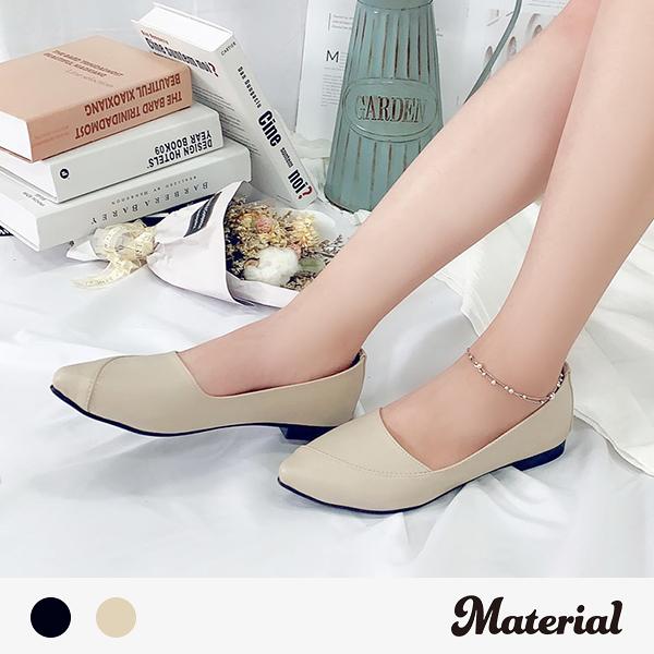 包鞋 優雅斜縫線包鞋 MA女鞋 T51012