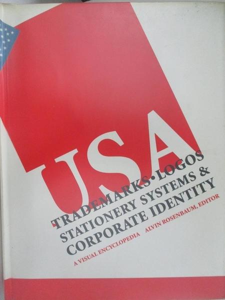 【書寶二手書T3/設計_J67】Trademarks, logos stationery systems & corporate identity USA