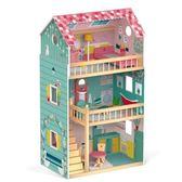 【法國Janod】我的豪華別墅 娃娃屋 J08131 /組