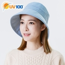 UV100 防曬 抗UV 保暖休閒漁夫帽-中性