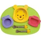 【震撼精品百貨】小熊維尼_Winnie the Pooh~日本迪士尼 DISNEY 小熊維尼 日製餐具組6件式組合#30711
