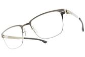 Ic! Berlin光學眼鏡 THE LONE WOLF SE BRONZE (霧青銅) 薄鋼眼鏡 # 金橘眼鏡