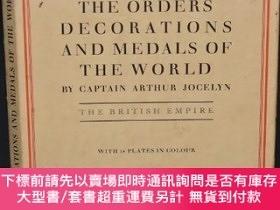 二手書博民逛書店1934年罕見Orders Decorations Medals of British Empire 《大英帝國勛