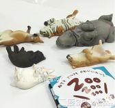 扭蛋 【黛西扭蛋】日版 熊貓之穴  ZOO休眠動物園 第4彈  扭蛋 二度3C