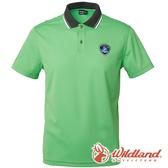 【wildland 荒野】男 COOLMAX 抗UV排汗YOKE衣-蘋果綠 0A61616 POLO衫 吸濕 排汗 抗紫外線