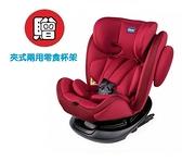 Chicco Unico 0123 Isofit安全汽座 (熱情紅CBB79848.64) 7990元+夾式兩用零食杯架