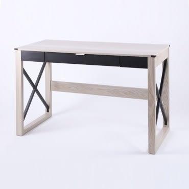 特力屋 哥本哈根造型書桌 採E1板材
