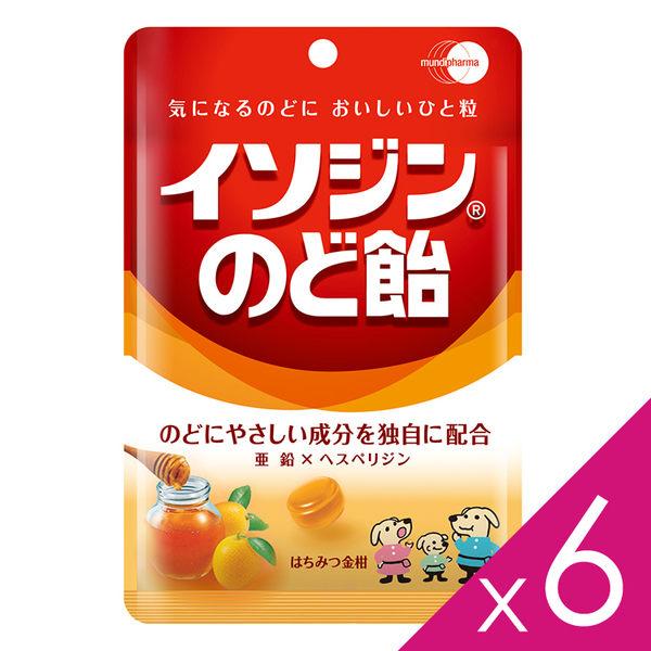 必達舒 Isodine 喉糖-蜂蜜金桔口味(91g /包)6包