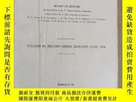 二手書博民逛書店the罕見physical review volume 45(P3007)缺封皮Y173412
