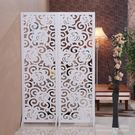 屏風餐廳屏風隔斷客廳簡約現代折屏折疊簡易移動雙面雕花鏤空玄關座屏WY【全館最高八折】