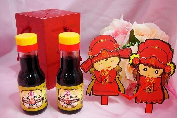 喜結良緣醬油禮盒  結婚用品 婚禮用品 拌手禮 婚禮小物【皇家結婚百貨】