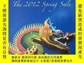 二手書博民逛書店罕見2012年3月9-10日香港皇朝Dynasty郵票拍賣目錄Y