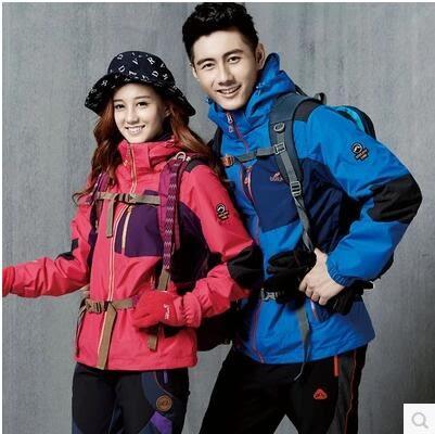 運動登山騎行服防水防風三合一外套BS14410『時尚玩家』